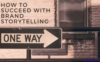 How to succeed with brand storytelling